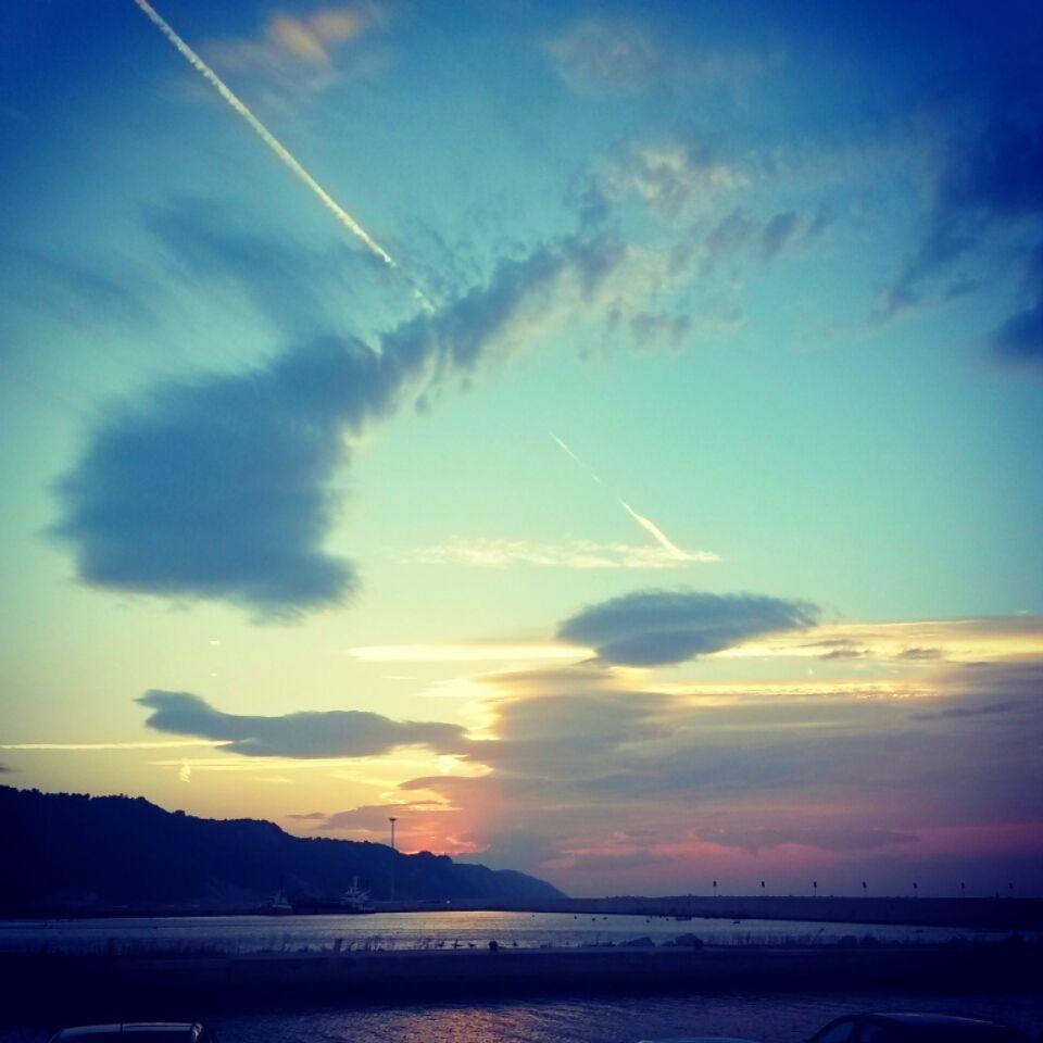 Sunset a #Pesaro
