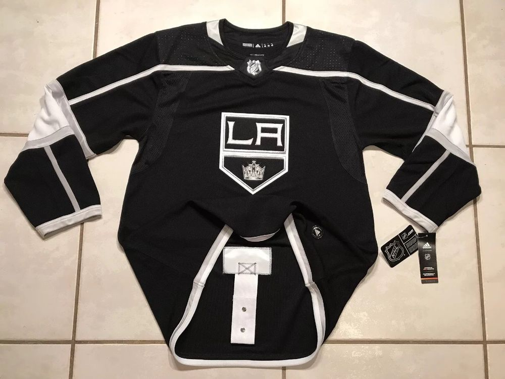 Nwt Adidas Los Angeles Kings Nhl Authentic Jersey Men S Size 46 Msrp 180 Ebay Adidas Los Angeles Los Angeles Kings Nhl