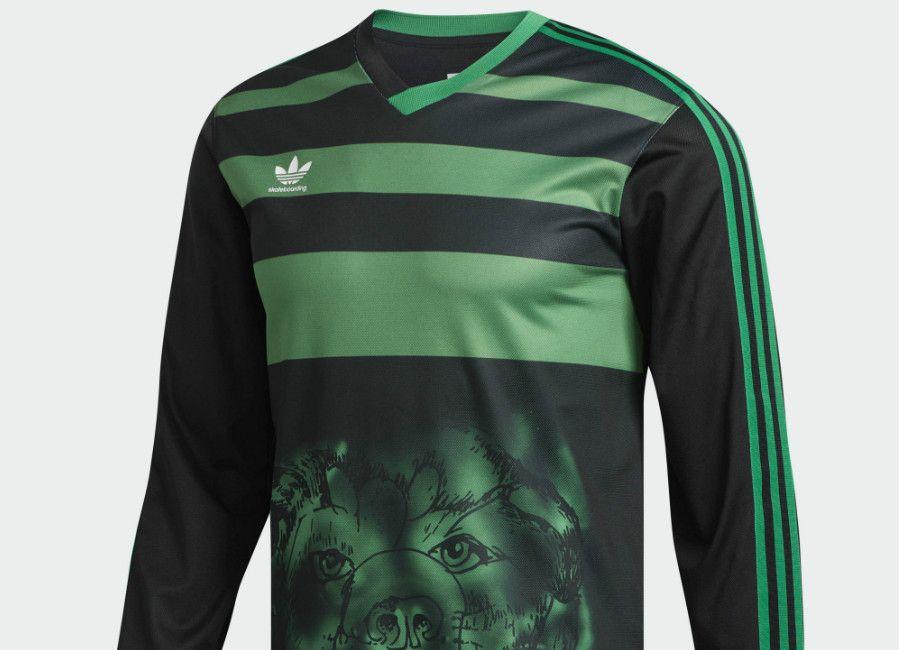 5dcbe672c3d3  football  soccer  futbol  fussbal  adidasfootball  goalkeeper Adidas  Tyshawn Jersey - Black   Green