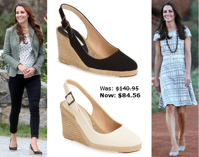 ce50a6fb5449 Nordstrom has 40% off Kate s  Imperia  wedges! Click to shop the sale