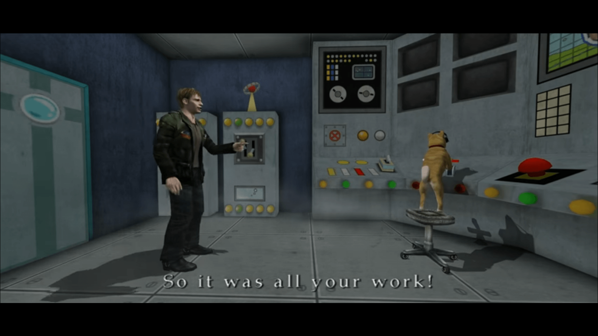 Silent Hill 2 Dog Ending it was all your work | Silent hill ...