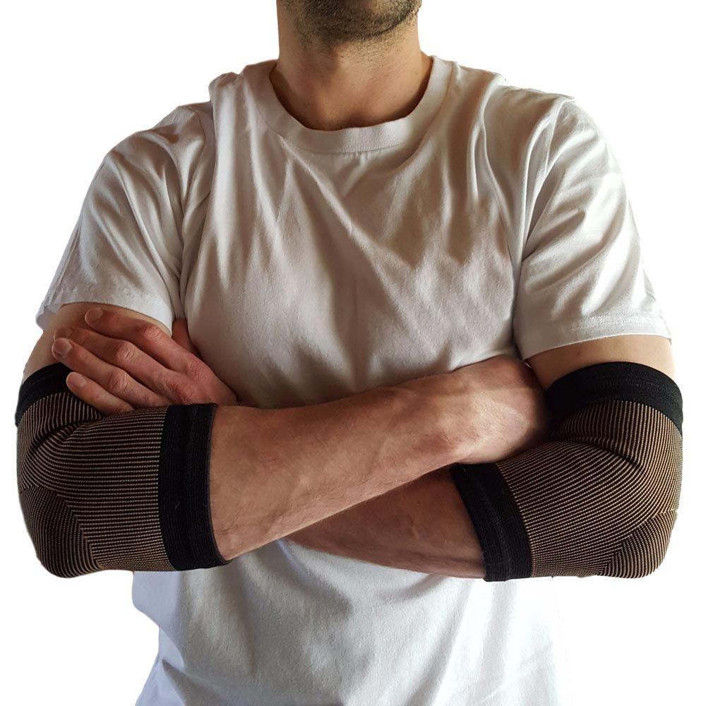 Copper infused elbow sleeves elbow sleeve