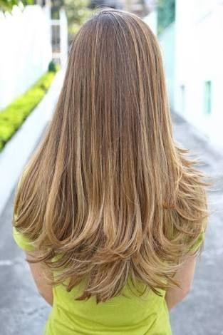 cabelo liso com luzes - Pesquisa Google