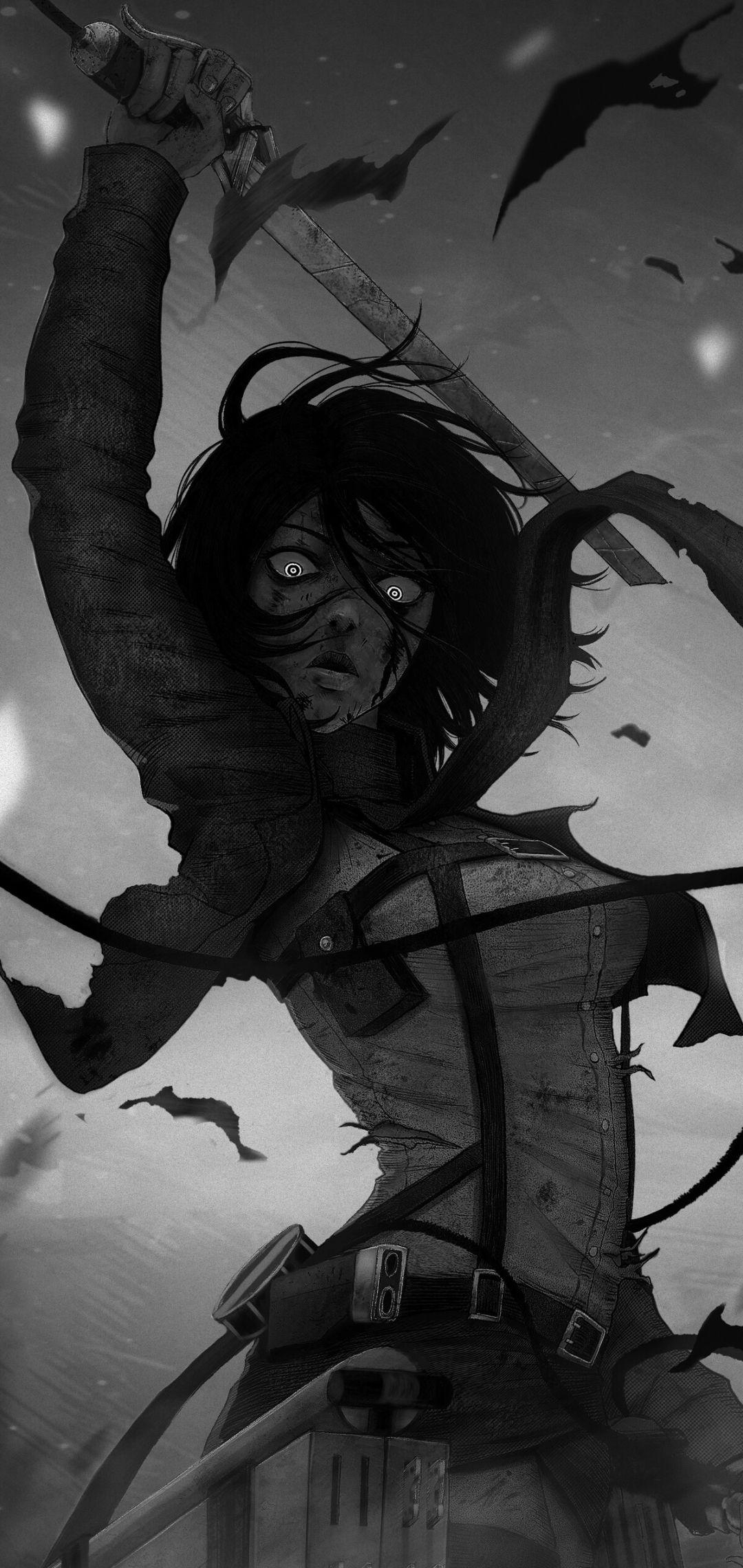 Jacobnobleart Mikasa Ackerman Shingeki No Kyojin In 2020 Attack On Titan Tattoo Mikasa Attack On Titan Anime