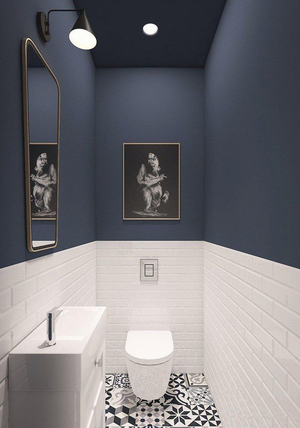 7 Home Decor Ideas Small Toilet Room Bathroom Design Trends Blue Wall Colors