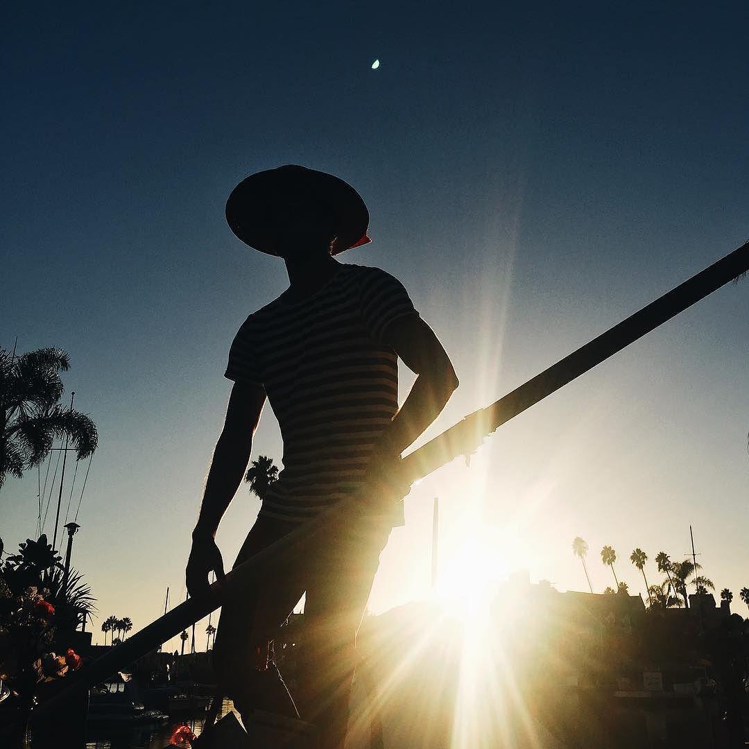 Sunset gondola rides = good vibes  @visitlb #locallb #beachwithbenefits