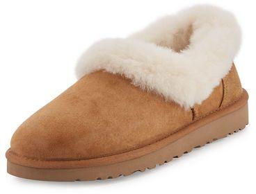 f9ab368d34e UGG Nita Shearling Slipper - UGG suede slipper. Bleached, dyed lamb ...