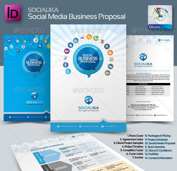 20 creative invoice proposal template designs business proposal proposal templates flashek Images