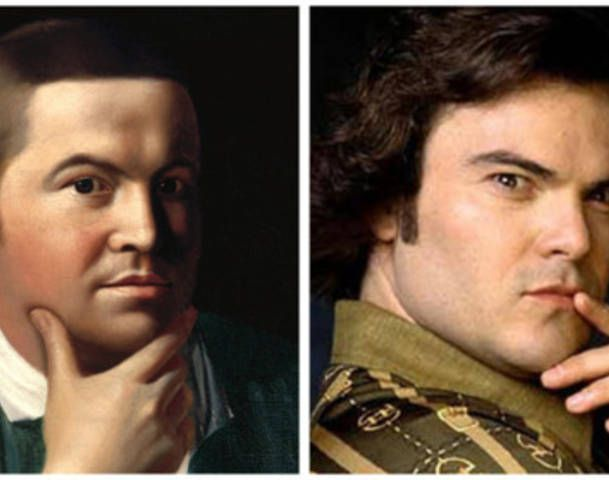 Paul Revere Painting Jack Black