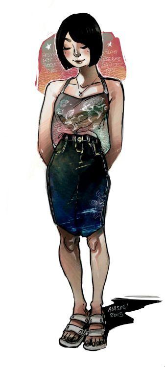 Original Character Blair Blacksford!textures Concept Art