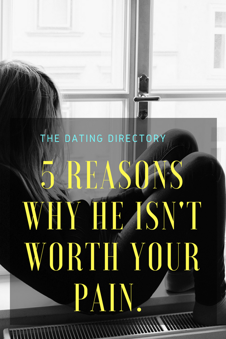 Eight Signs He's Not WorthDating pics
