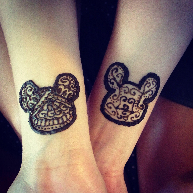 Mickey Mouse Henna Disney Henna Henna Tattoo Print Tattoos