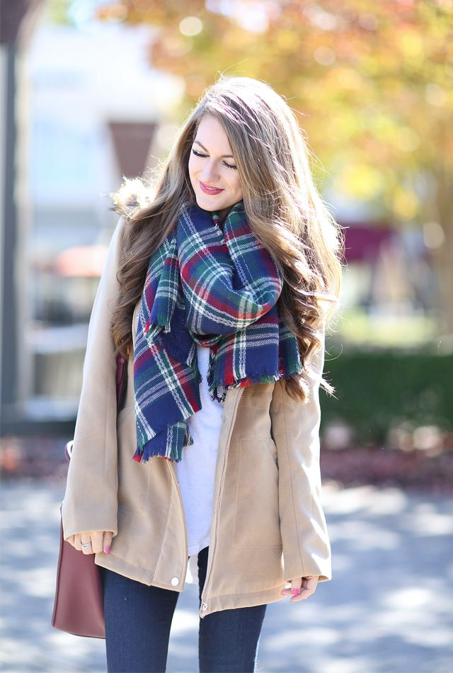 Southern Curls & Pearls: Plaid Lovin'