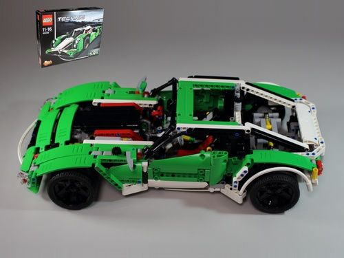 42039 alternate sportscar a lego creation by amaman. Black Bedroom Furniture Sets. Home Design Ideas