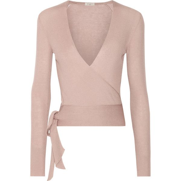 Etro Ribbed cashmere wrap cardigan ($1,115) ❤ liked on Polyvore ...