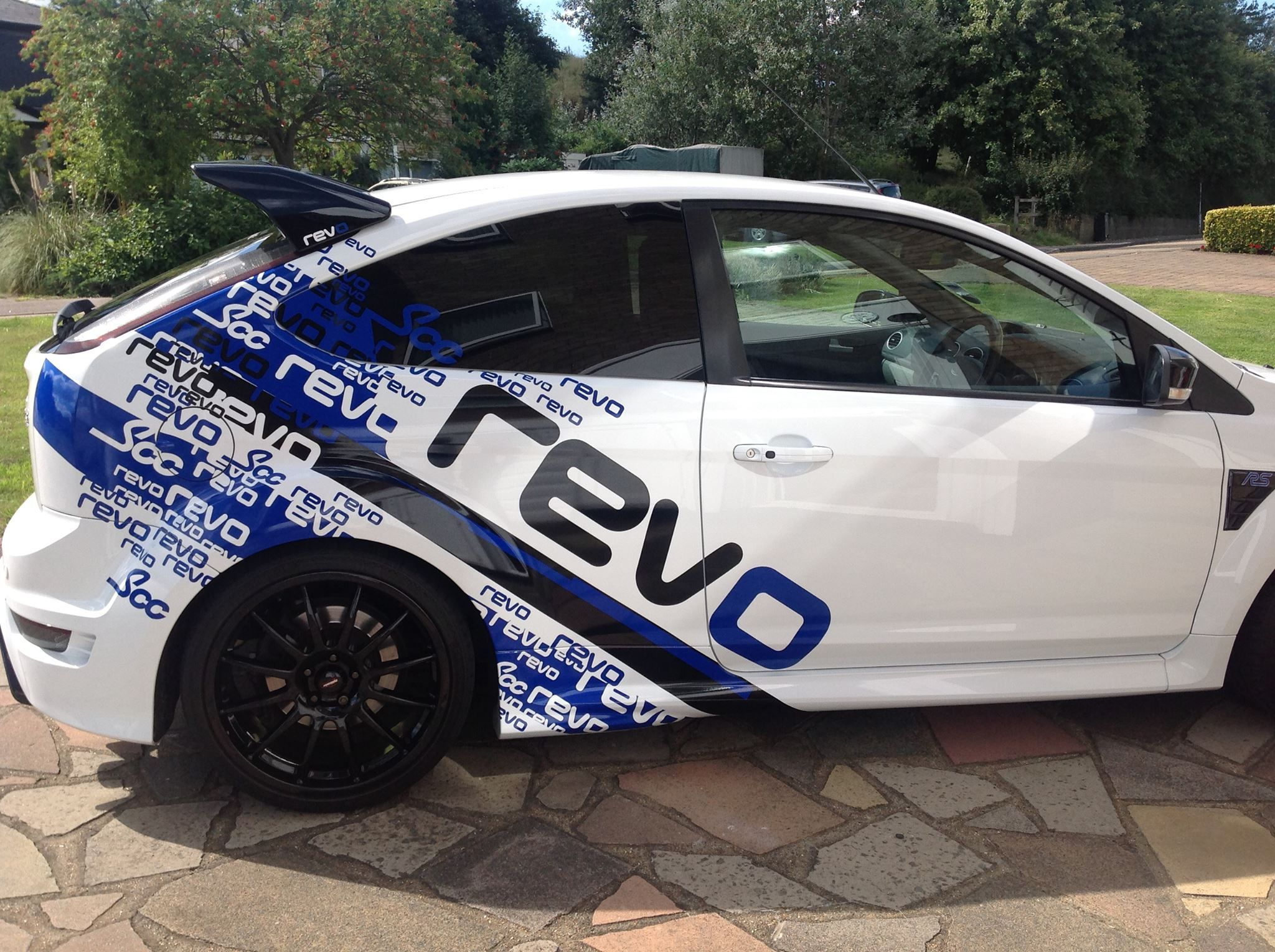 Another revo scc graphic car hit s the streets