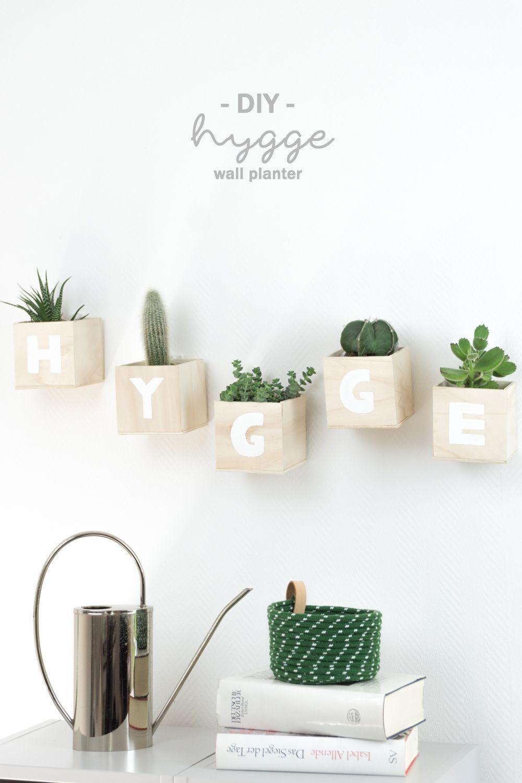 DIY Hygge Buchstaben Wanddeko Für Die Wand Basteln U2013 Tolle Selbstgemachte  Deko Idee Für Die Wand