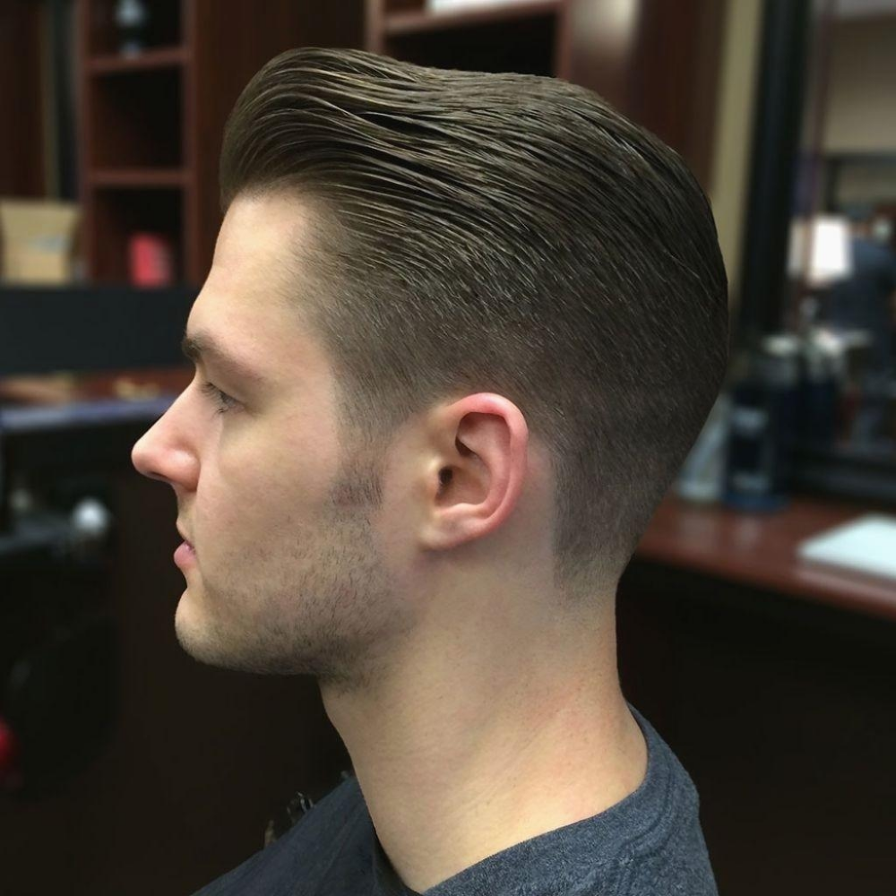 28 Mens Haircuts Katy Tx Magnificent Hairstyle For Men Back View 28 Intended For Undercut Hairstyle Fade Haircut Mens Hairstyles Pompadour Fade Haircut Styles