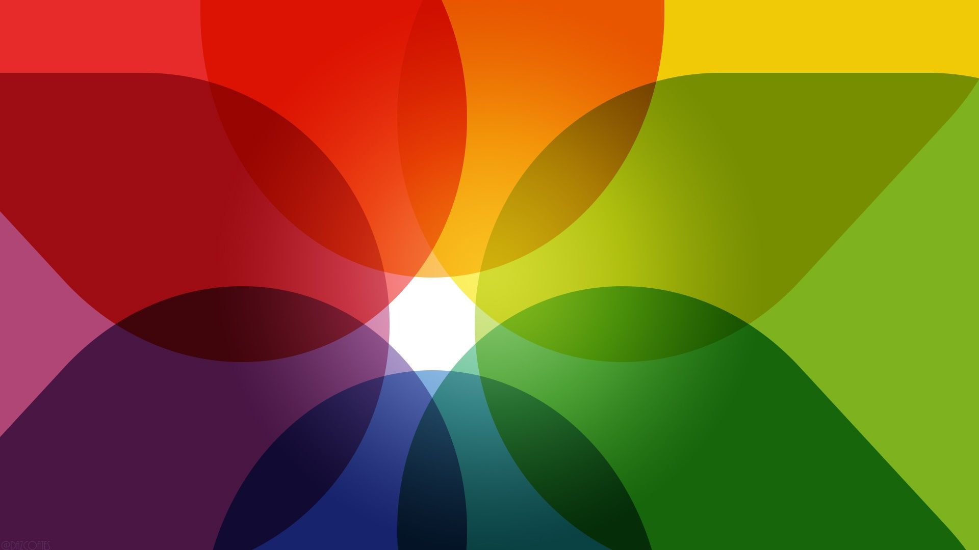 Rainbow abstract flower petals background rainbow for Rainbow petals