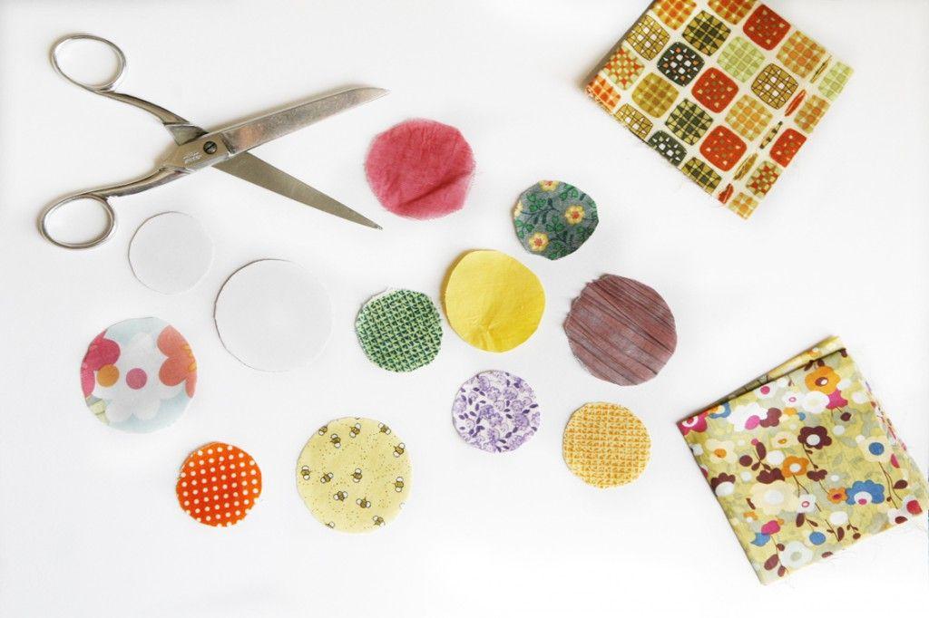 Diy : Tote-Bag aux boules de couleurs - FarabouleVotez pour ma création : http://goo.gl/vZMTwq