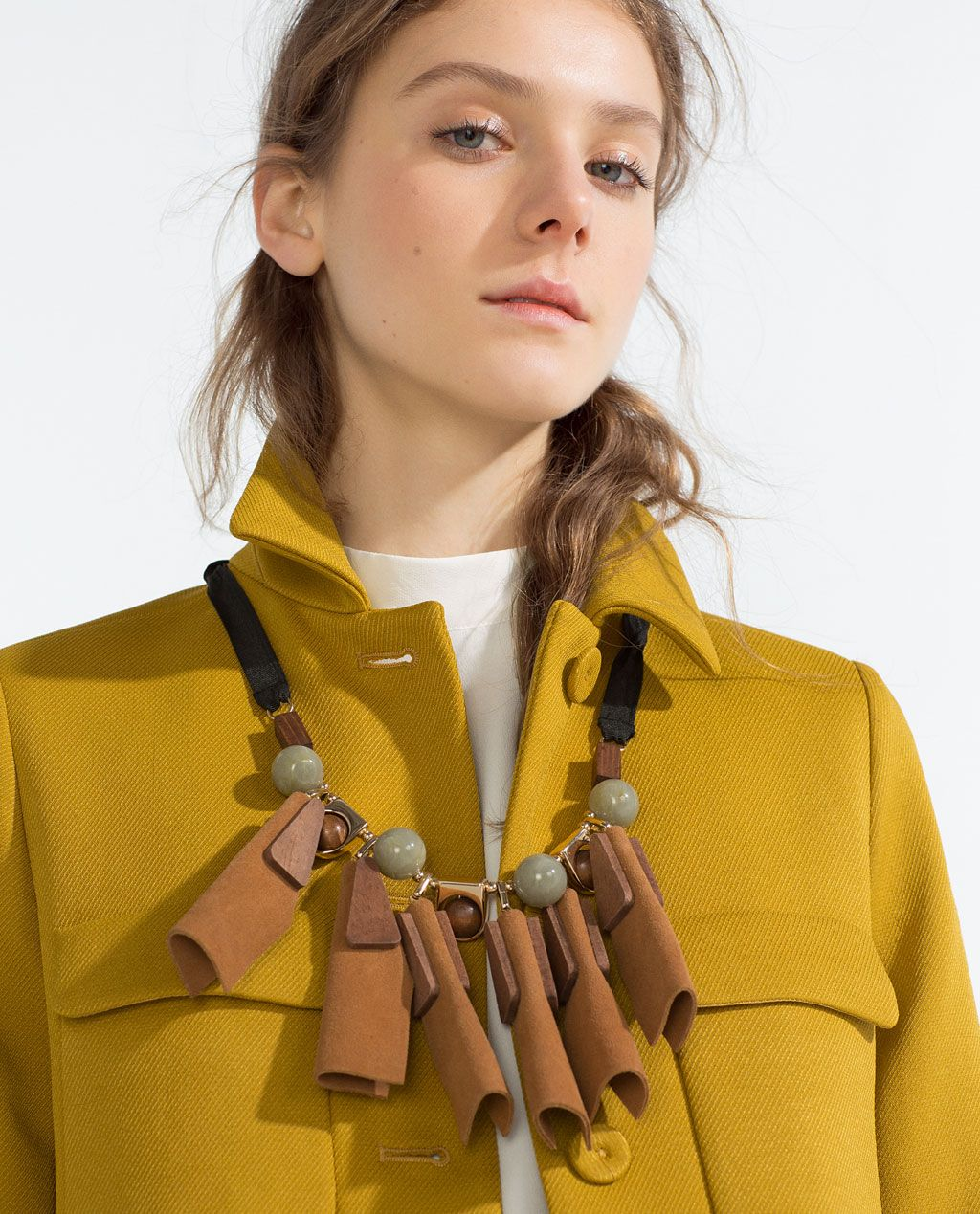COAT WITH PETER PAN COLLAR-View all-Outerwear-Woman-COLLECTION SS16   ZARA United States