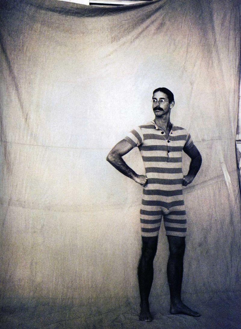 36889d708e mens 1920s swimsuit | Fashion | Vintage men, Men's swimsuits, History