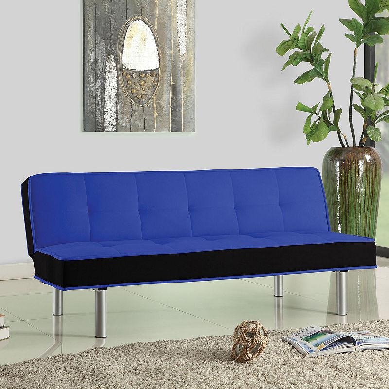 Hailey Adjustable Flannel Sofa Fabric Sofa Bed Futon Sofa Sofa