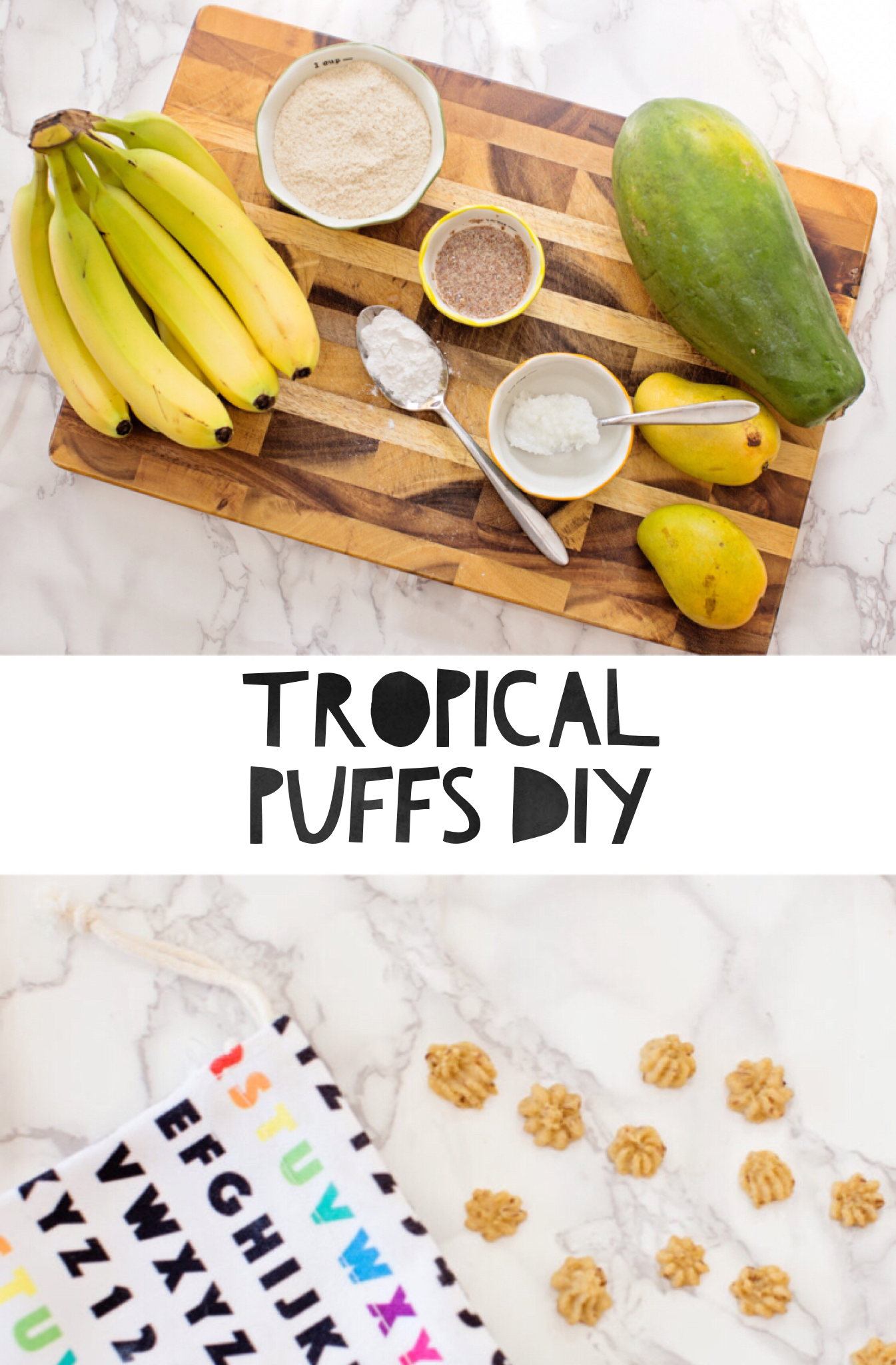 Homemade Tropical Vegan Puffs   Recipe (With images ...