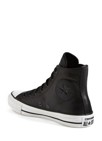Converse | Chuck Taylors. | Leather sneakers women, Leather ...