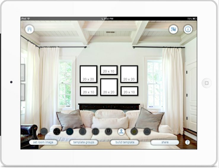 Displaying Your Custom Wall Art | {Andrea Gallagher Photography} San ...
