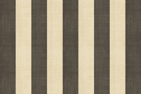 Custom  Stripe - espresso and cream fabric by kristopherk on Spoonflower - custom fabric