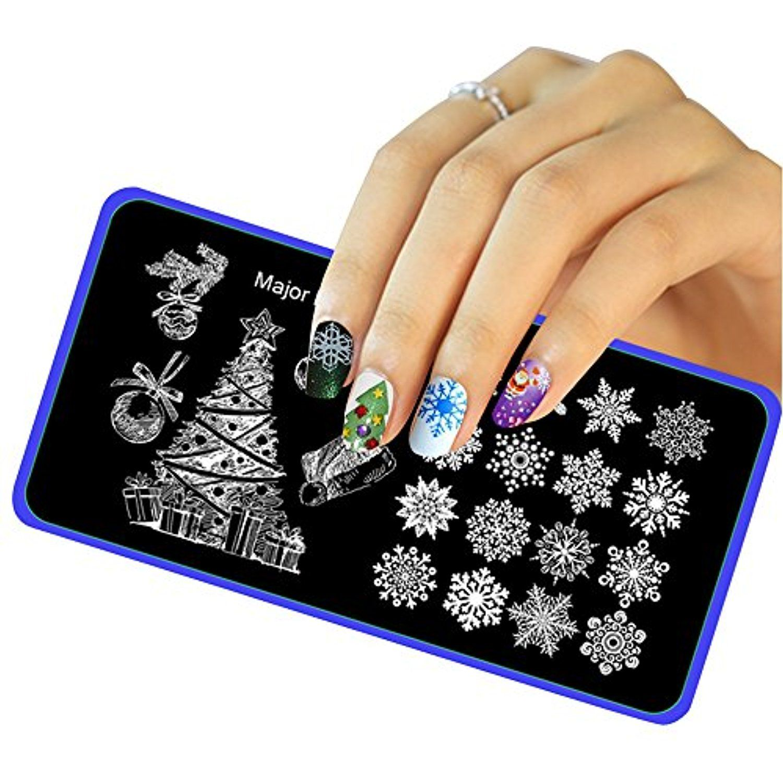 Vovotrade christmas diy nail art image stamp stamping plates vovotrade christmas diy nail art image stamp stamping plates manicure template e maxwellsz