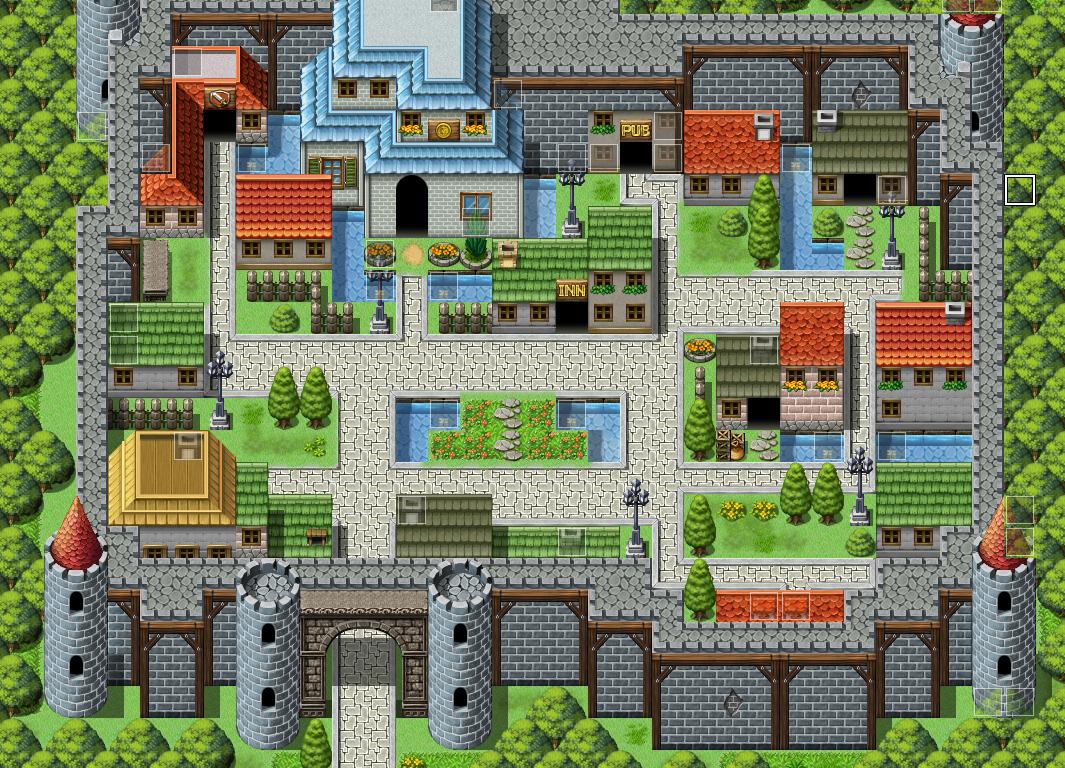 RPG Maker Forums | Pixel art games, Pixel art, Pixel city