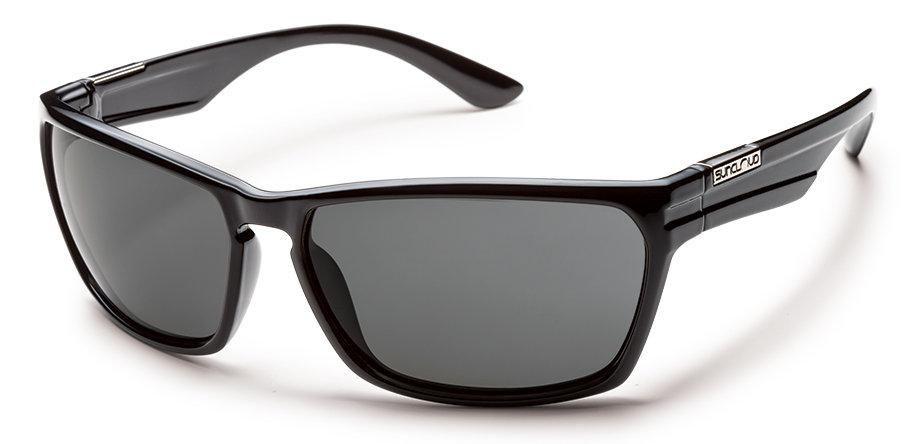 b30836fe59e Suncloud Cutout S-CTPPGYBK Black Frame Grey Lens Sunglasses ...