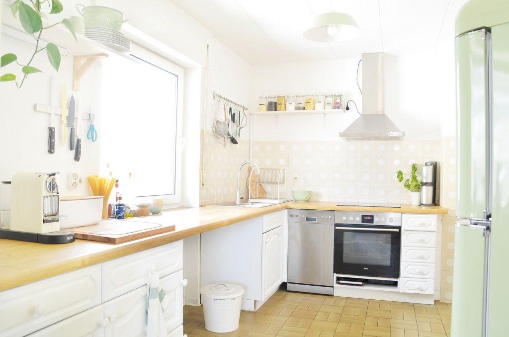 Makeover Küche verschönern VorherNachher (Teil 2