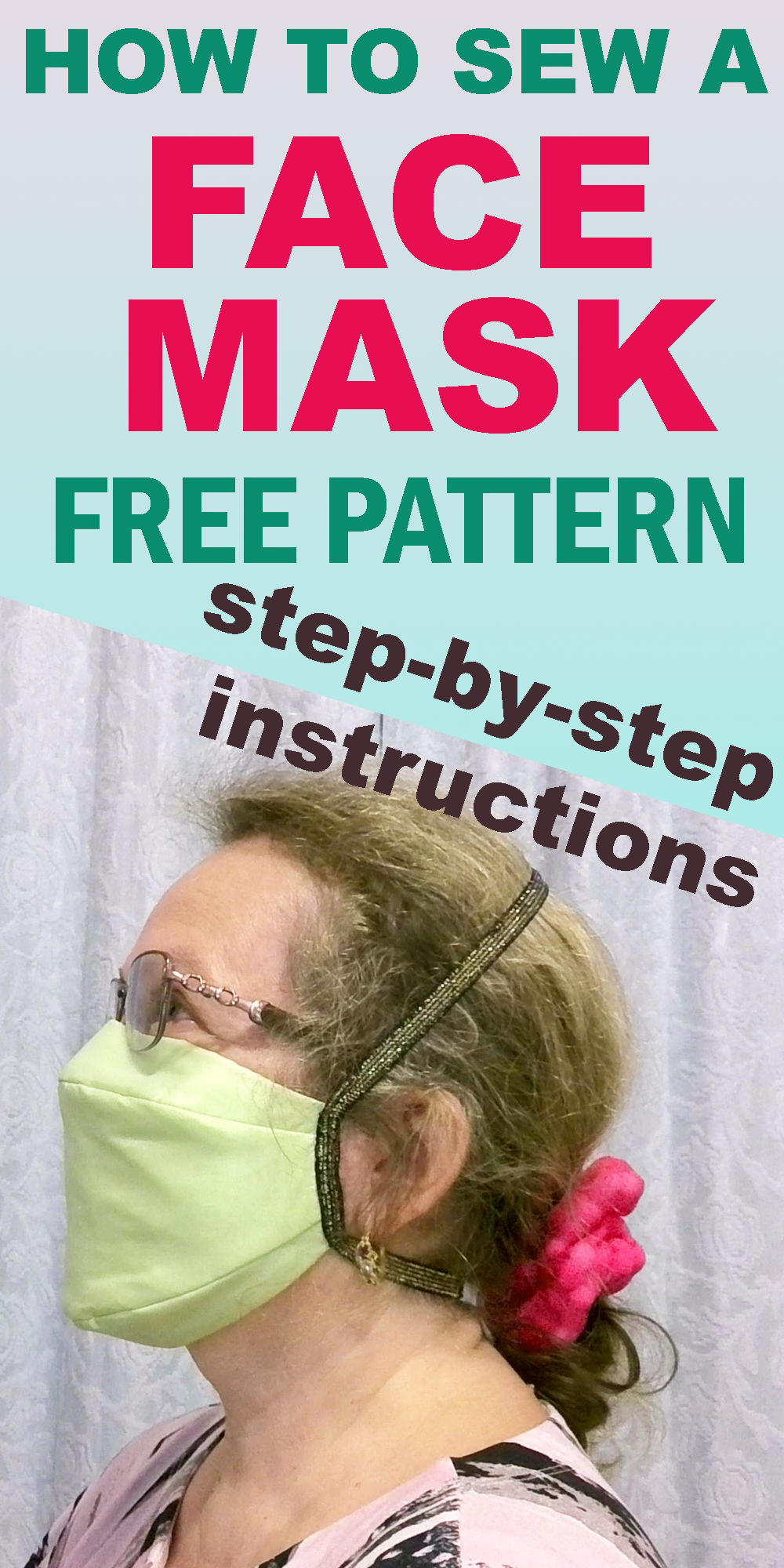 Photo of How to sew a face mask from fabric plus a free sewing pattern