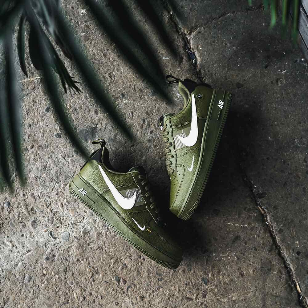 insidesneakers • Nike Air Force 1 '07 LV8 Utility « Olive