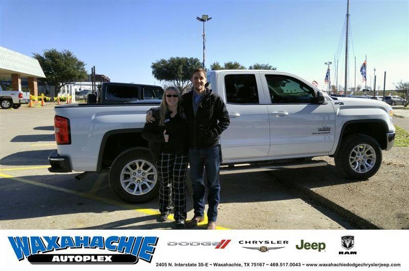 Congratulations Jonathon On Your Gmc Sierra 1500 From Ashley