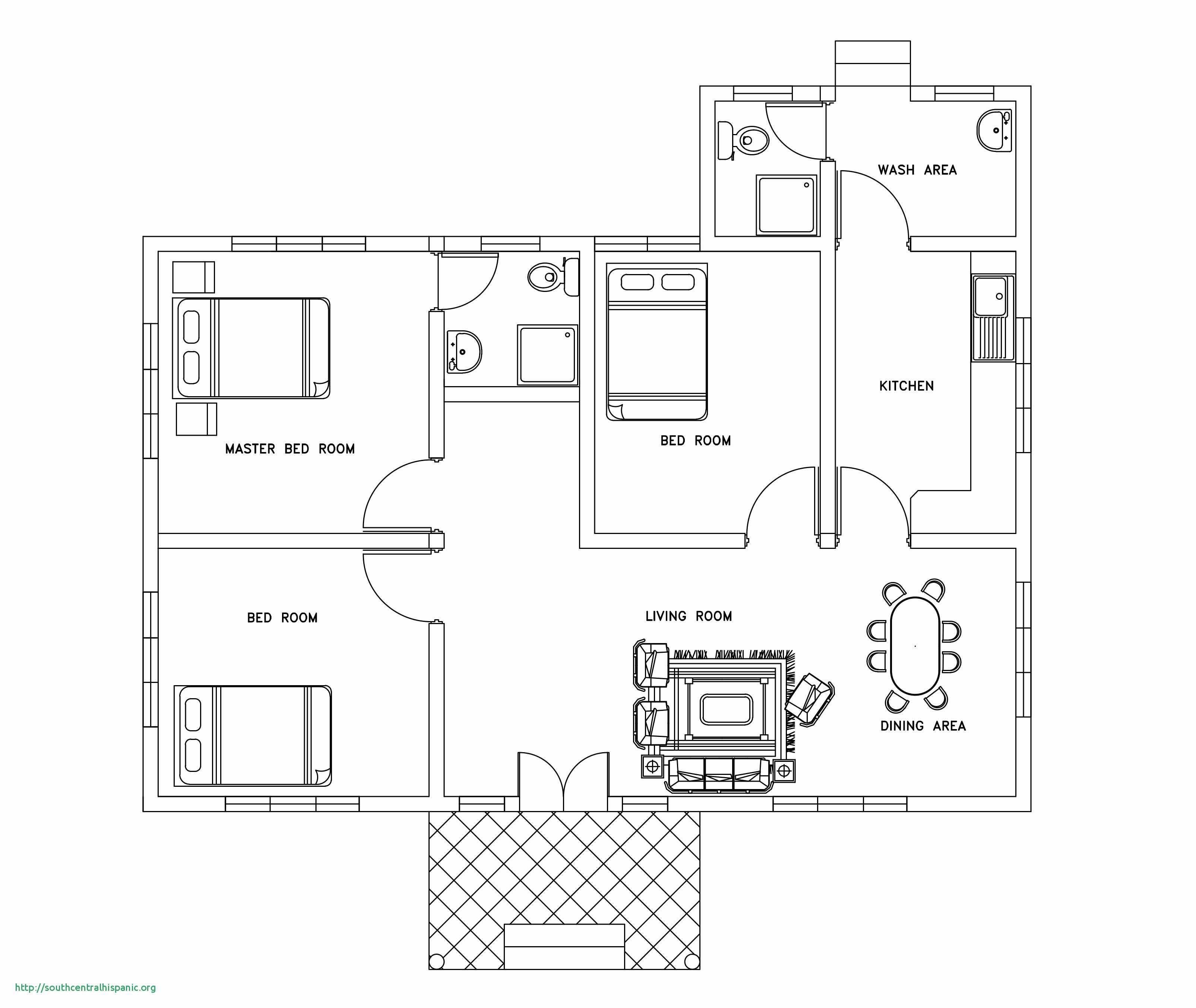Bedroom Floor Plan Symbols  Floor plan design, Bedroom house