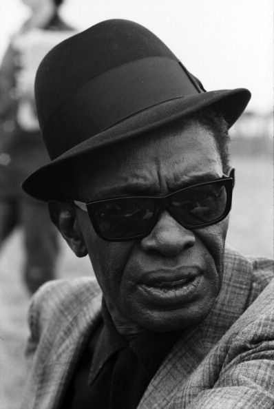 A Blues Singer Sam Lightnin Hopkins
