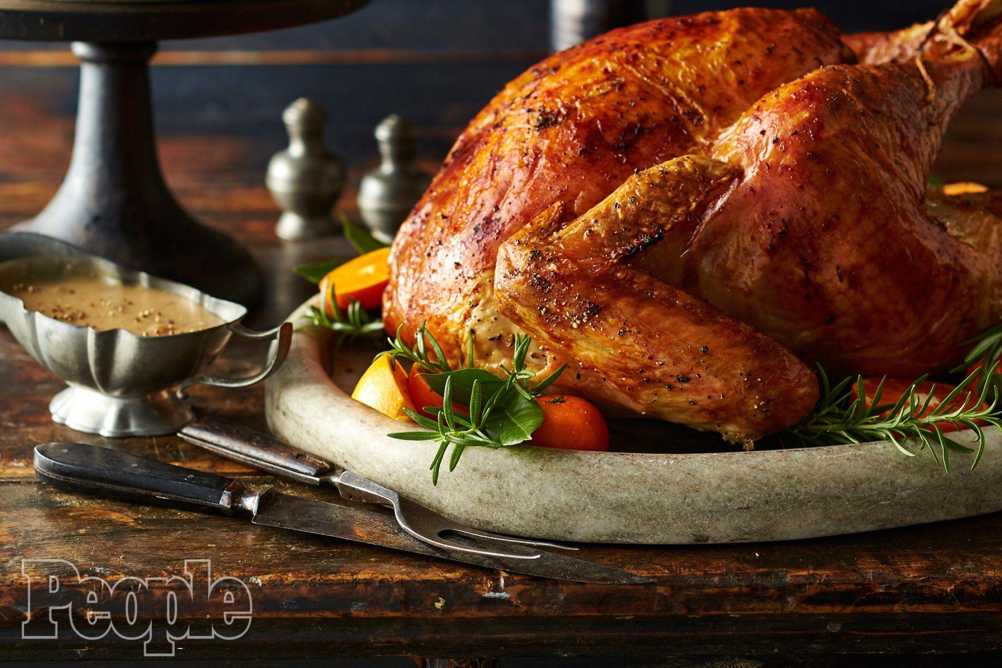 Turkey Brine: Ree Drummond's Apple Cider Roast Turkey Recipe