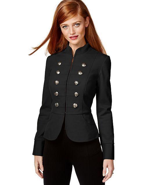 Denim & Supply Ralph Lauren Long Officer's Coat - Denim & Supply Ralph Lauren - Women - Macy's