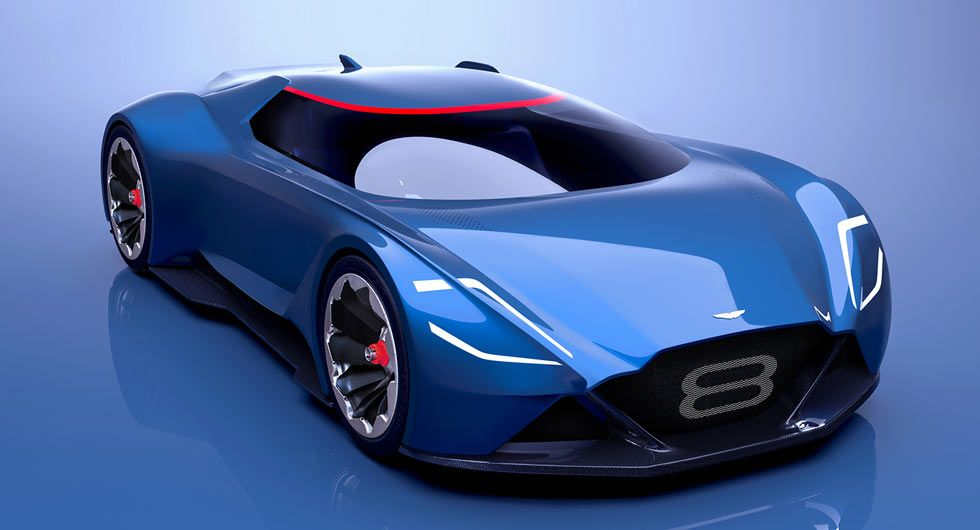 Aston Martin Vision 8 Is A Futuristic V8 Vantage Aston Martin