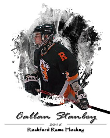 Templates Unlimited Details Hockey Posters Black Sharpie Senior Posters