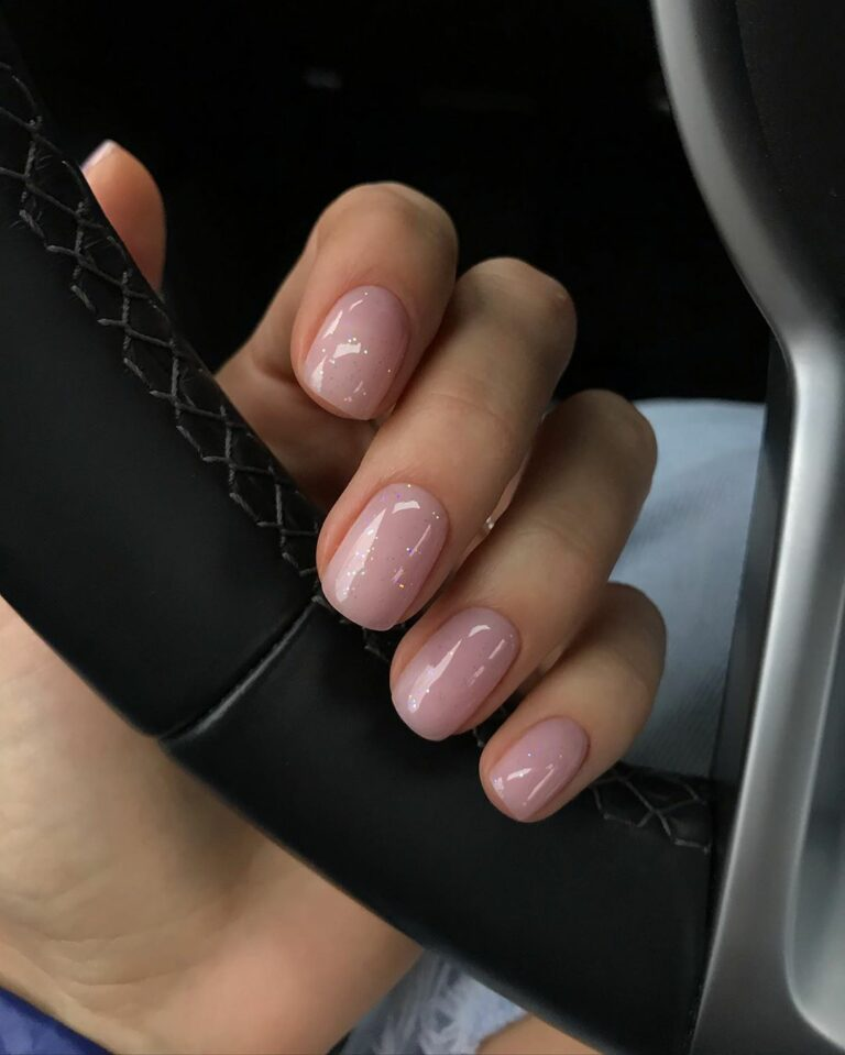 45 Simple Short Nail Styles In 2020