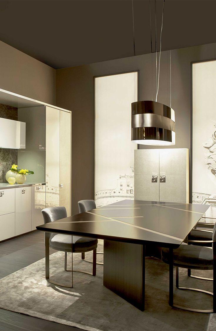 Dining Room At Villa Giulia By Fendi Casa Ambiente Cucina