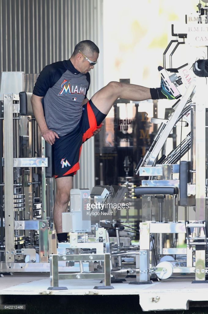 Ichiro Suzuki,MIA//Feb 16, 2017 at Jupiter | Baseball XV | Pinterest