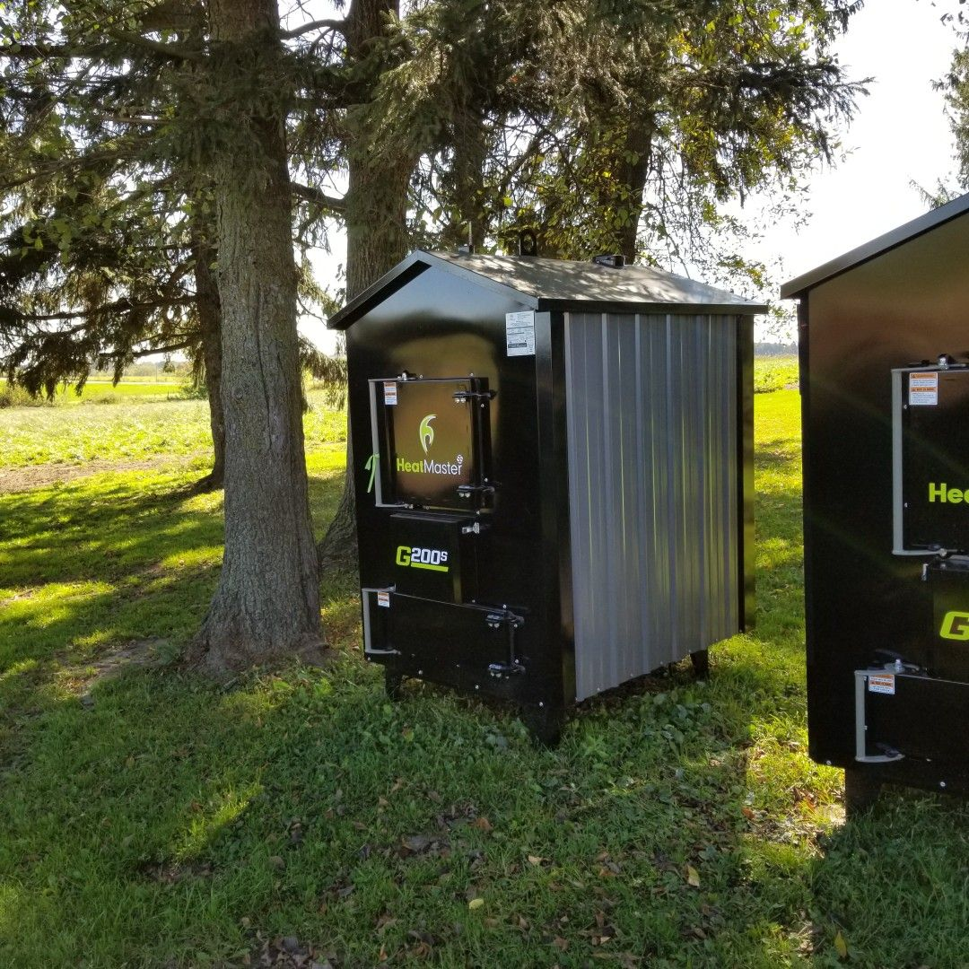 energy efficient outdoor wood boilers by heatmaster ss outdoor