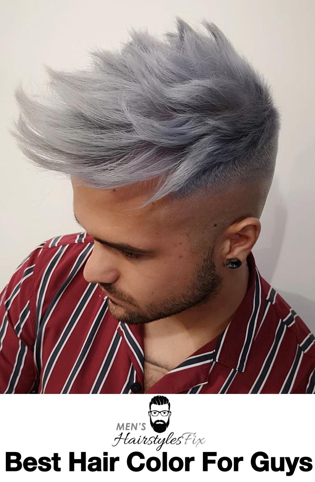 best hair color for guys in short hair men pinterest