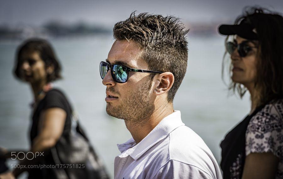 sunglasses man by StefanRadi
